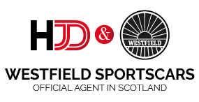 HJD Cars is Westfield Sportscars official agent in Scotland